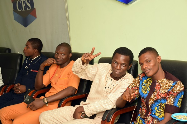 Mr. Lawal, Mr. Adeyinka, Mr. Michael and CFS IT