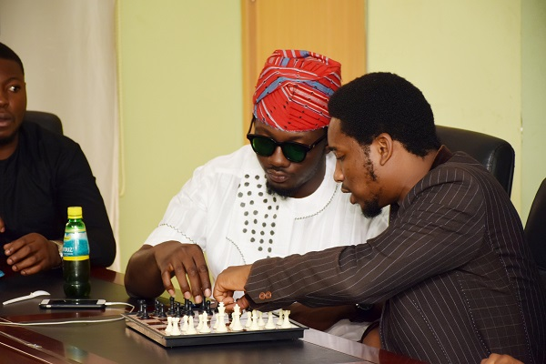 Mr. Samuel and Mr. Cyril in Chess Battle