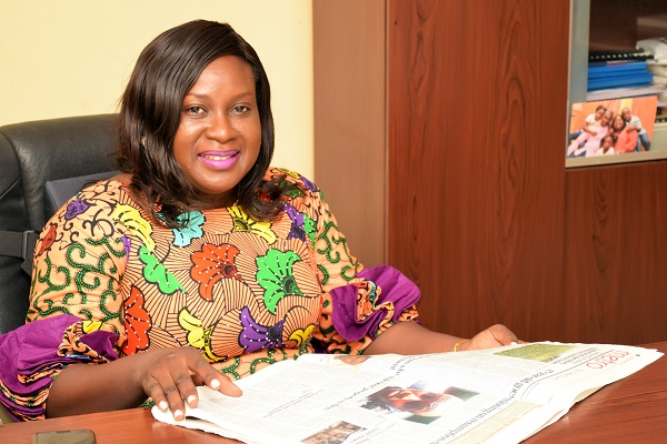 The CEO - Mrs Bola Agunbiade